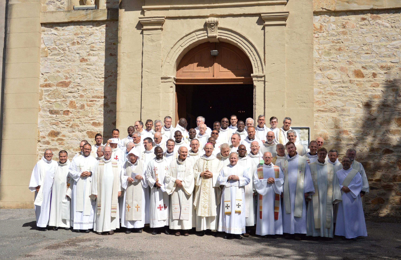 Rentrée du presbyterium à Montredon-Labessonnié, septembre 2016