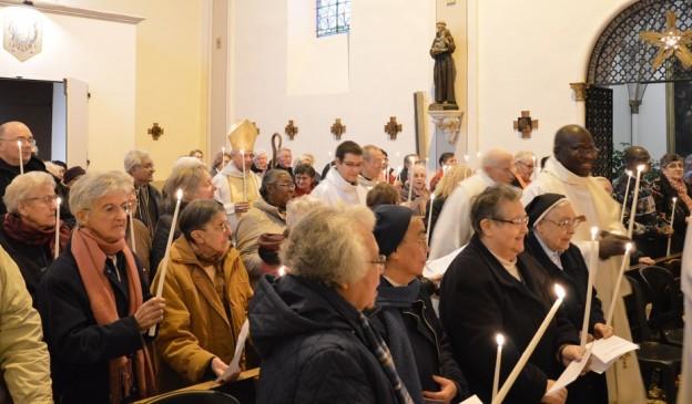 Clôture de l'Année de la Vie consacrée, le 2 février 2016 à Lavaur