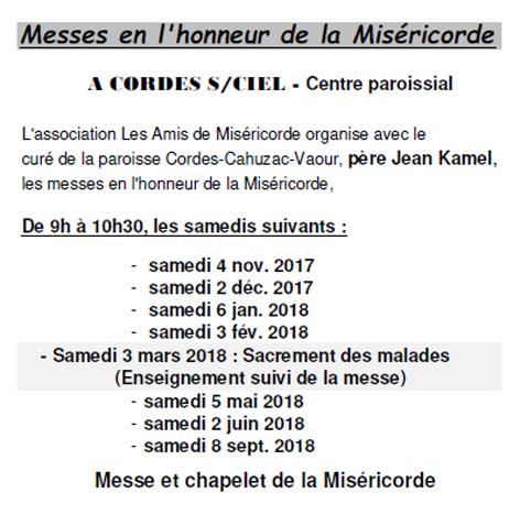 Cordes Miséricorde 2017-18 a