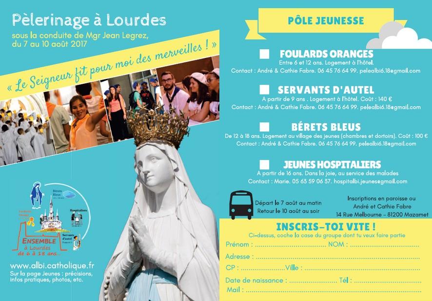 Lourdes jeunes