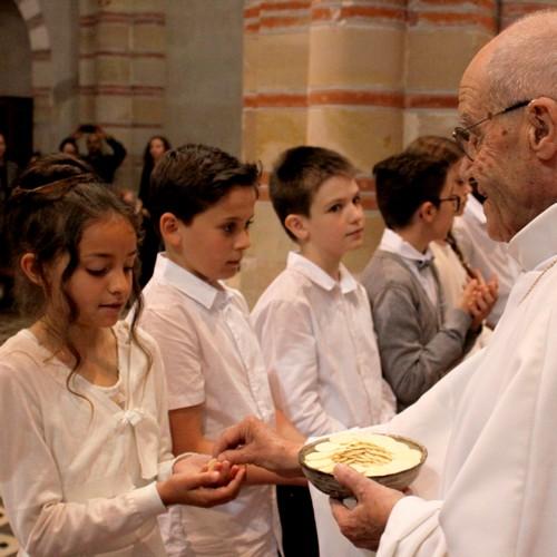 Première communion, eucharistie