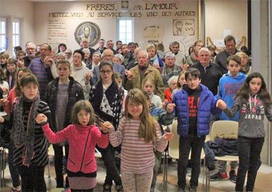 Cordes 01-17 messe famille voeux vign