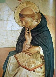 Saint Dominique, par Fra Angelico