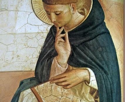 Saint Dominique, par Fra Angelico