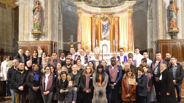Appel decisif catechumenes groupe 620