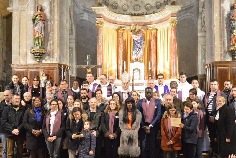 Appel decisif catechumenes groupe