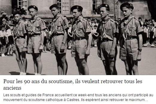 90 ans scoutisme