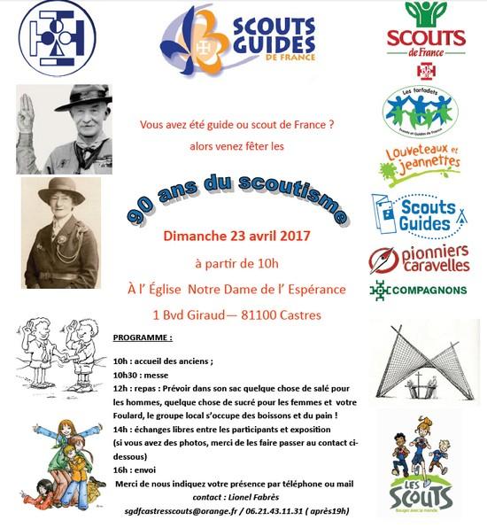90 ans scoutisme Castres