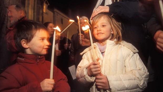 Semaine Sainte: Vigile pascale à l'église de Limours