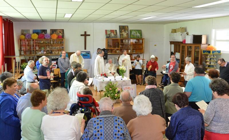 La journée s'est conclue par la messe