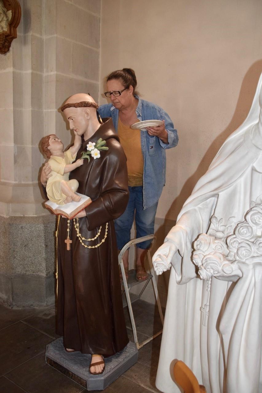 Madame Catherine Mengozzi aux soins de saint Antoine