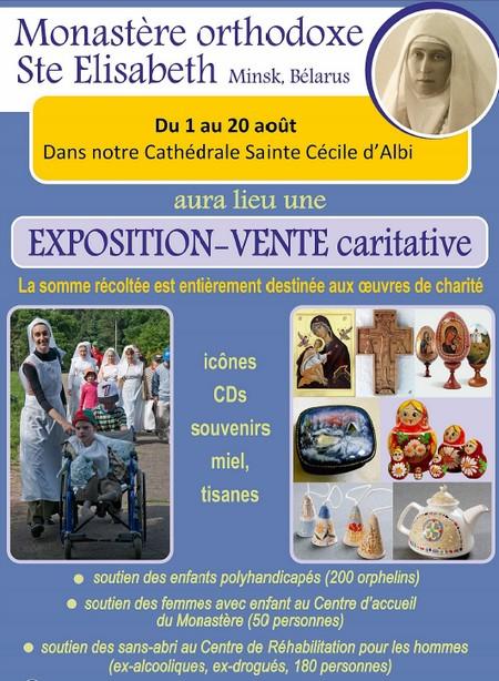 Expo vente monastere orthodoxe
