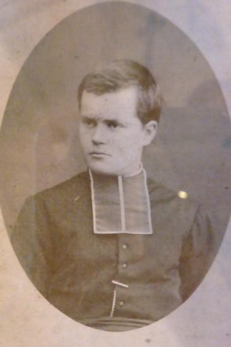 Jules Verbier, jeune séminariste aux Missions Étrangères de Meudon