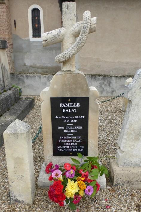 Tombe des parents de Théodoric Balat