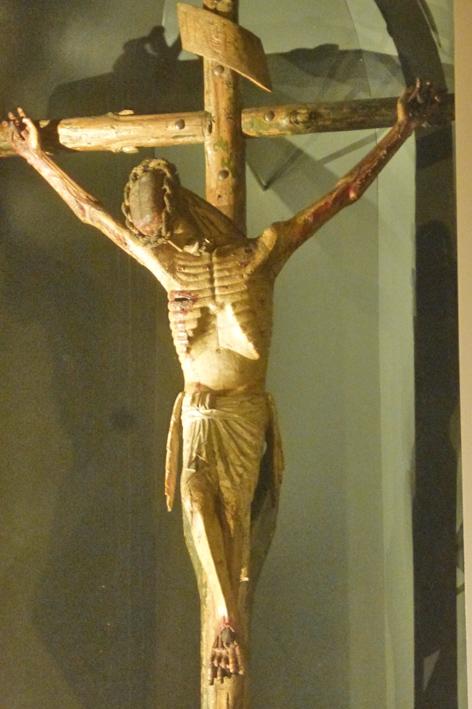 MU Univ été 2017 - Christ crucifié cathédrale de Perpignan