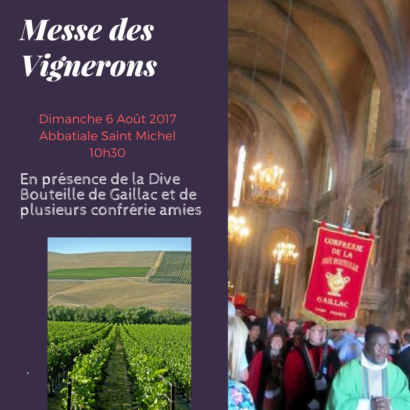 Messe des vignerons dive bouteille