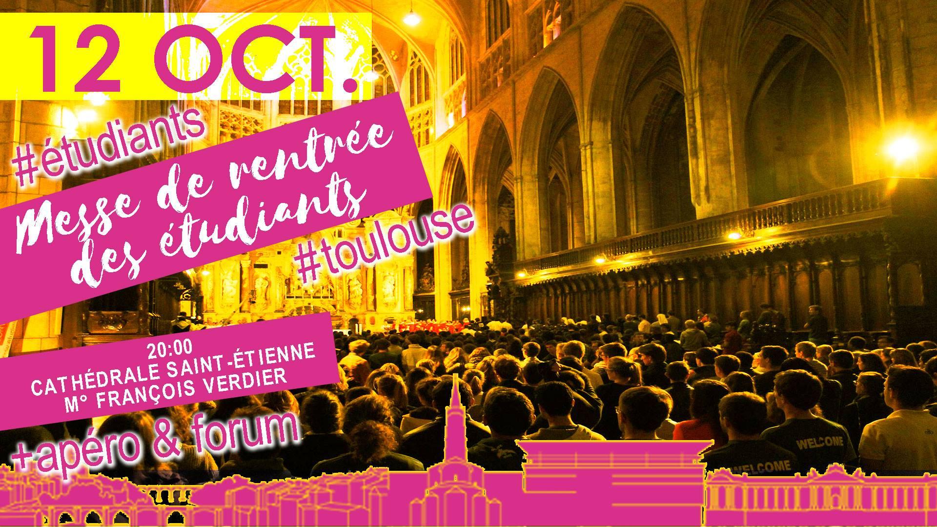 Messe rentrée étudiants Toulouse