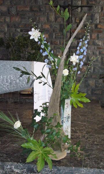 Bouquet pour la fête de l'Assomption de la Vierge Marie