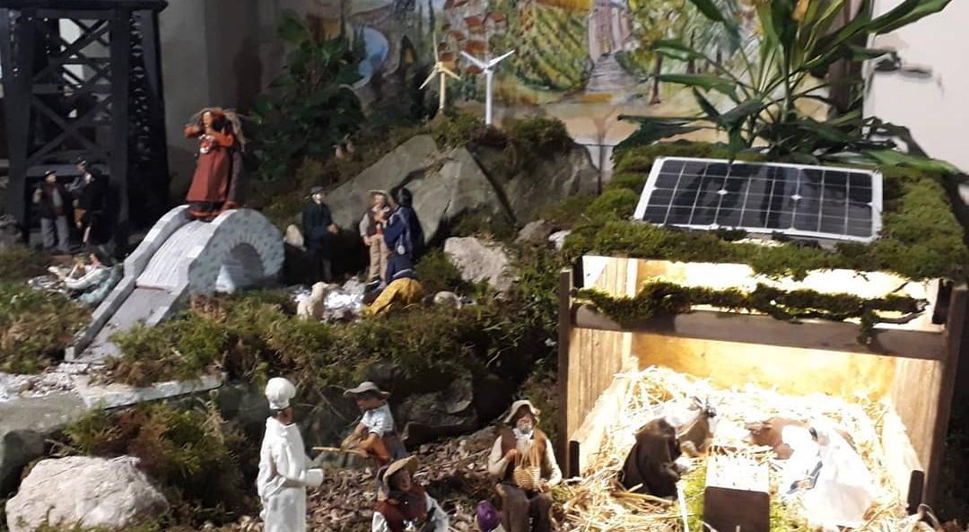 Crèche à Carmaux, avec différentes sources d'énergies renouvelables