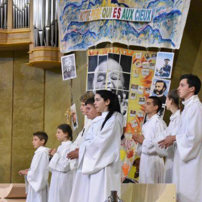 2019 08 05 Lourdes messe envoi servants autel