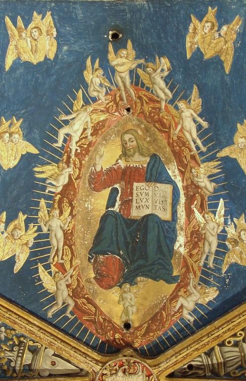 Christ en gloire. Cathédrale Sainte-Cécile d'Albi