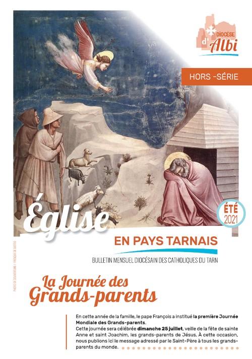 Couverture hors-série bulletin diocésain pour la Journée des Grands-parents